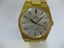 Gents Omega Geneve Automatic Gold Plated Watch Silver Dial 166-0099 1481 #1202