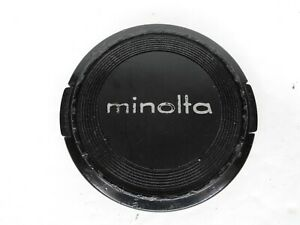 Minolta Genuine 55mm Snap On Front Camera Lens Cap (Heavy Wear)