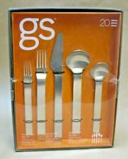 New listing Gourmet Settings Gs Pure Stainless Steel Flatware 20 Pc Set, Danish Modern New