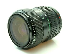 Pentax A 28-80mm 3.5-4.5 Zoom Camera Lens Pentax KA Mount 6607831