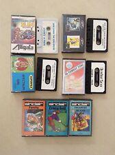 7x Sinclair Cassetts-vigorosos, Golf, zona de combate, Sponsor-ZX Spectrum Cassette