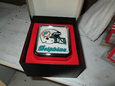 Miami Dolphins Medallion Light by Armbruster promo deco overstock CAR emblem