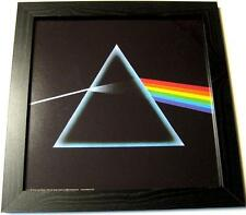 "PINK FLOYD PHOTO / FOTO MIT RAHMEN ""DARK SIDE OF THE MOON"" - 30x30cm - POSTER"