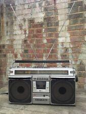 SHARP GF-8585 Ghetto Blaster Boombox Cassette Radio Ricambi/riparazioni