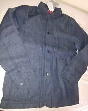 Levis Engineer Coat USA made Selvedge Denim thermore lining New Size M 349970000