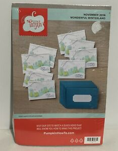 Stampin Up WONDERFUL WINTERLAND Christmas Paper Pumpkin Refill Kit