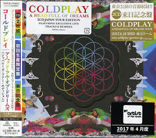 COLDPLAY-A HEAD FULL OF DREAMS (JAPANESE TOUR...-JAPAN 2 CD BONUS TRACK F56