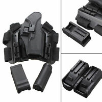 For Glock 17 19 22 23 31 32 Tactical Drop Leg Holster Pistol Serpa Right Hand