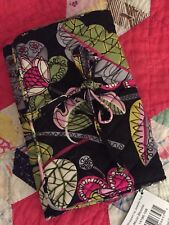 NWT VERA BRADLEY MOON BLOOMS ALL WRAPPED UP Jewelry Case