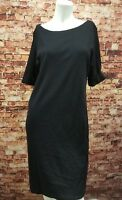 Karen Scott Black Shift Dress Size M