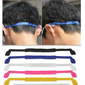 Silicone Head Strap Band Holder For Glasses Sunglasses Running Bike Sports