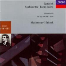 JAN CEK: SINFONIETTA/TARAS BULBA/SHOSTAKOVICH: THE AGE OF GOLD (SUITE) USED - VE