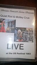 Dream Concert Series Presents: Quiet Riot & Motley Crue Live US Festival on dvd!