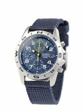 SEIKO Chronograph SND379R Men's Watch from Japan New