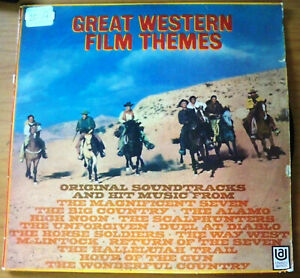Great Western Film Themes - Australian Festival LP Record