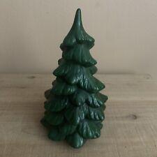 Vintage Ceramic Mini Christmas Tree, Hand-Painted