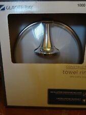 Chrome Glacier Bay Towel Ring aro para toalla 6.3 x 7.2 x 2.9 New in package