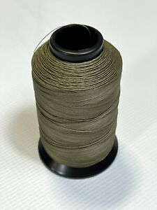 Polyester Sewing Thread Beaver Tan One 4oz Spool T90 1125 Yards Bonded P33