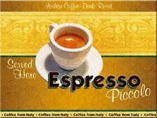 Espresso Piccolo Kühlschrankmagnet Fridge Refrigerator Magnet 6 x 8 cm
