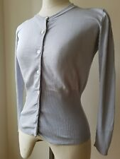 Gentryportofino Silk Long Sleeve Blouse Size 46