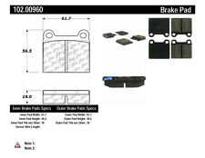 Disc Brake Pad Set-C-TEK Metallic Brake Pads Front,Rear Centric 102.00960