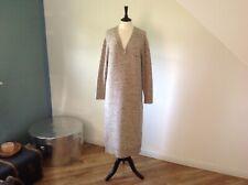 Ladies Beige Wool Dress By Massimo Dutti UK 12.   BNWOT !