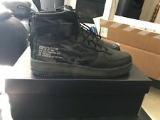 Nike Air Force 1 SF AF1 MID QS Tiger Camo Black Size 10.5 New!!!