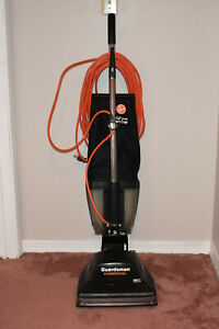 Hoover Guardsman Commercial Upright Vacuum w/Dust Cup Model C143301