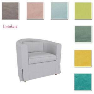Custom Made Cover Fits IKEA EKTORP Tullsta Chair, Replace Cover, Velvet Fabric