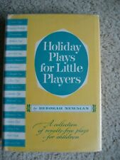 Holiday Plays for Little Players Hc Dj Royalty-Free Plays for Children Fun