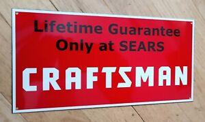 Sears Craftsman Sign