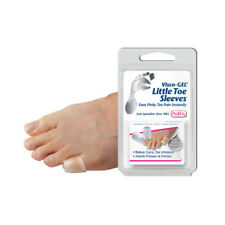 PediFix Visco GEL Little Toe Sleeves Foot Care for Corns and Ingrown Nails Pair