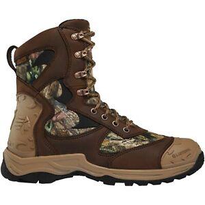 """Lacrosse Men's 572111 Atlas 8"""" Mossy Oak Break-Up Waterproof Hunting Boots Shoes"""