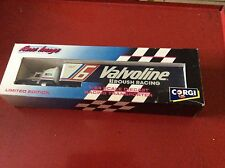 Rough racing transport. Corgi semi kenworth kw valvoline #6 team 1/64 93 Mattel