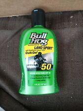 Bull Frog Land Sport Quik Gel Sunscreen SPF 50 5 oz each Exp 2021 or 2022