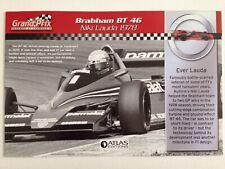 1978 Niki Lauda Brabham BT46 RBA ATLAS EDITION A5 PAPER BOOKLET
