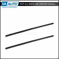 OEM Lower Door Weatherstrip Seal Set of 4 Front /& Rear for Ford F250 F350 F450