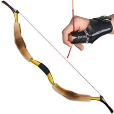 20-50lbs Archery Hunting Traditional Recurve Bow Mongolian Horsebow Target