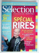 SÉLECTION DU READER'S DIGEST DE AVRIL 2006, EN COUVERTURE MARTIN MATTE