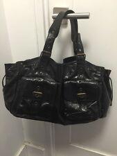 GERARD DAREL 24H Black Patent Leather Bag. Excellent Condition