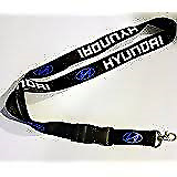 HYUNDAI LANYARD NECK STRAP KEY CHAIN HIGH QUALITY 22 Inch Blue Logo Fast shippin