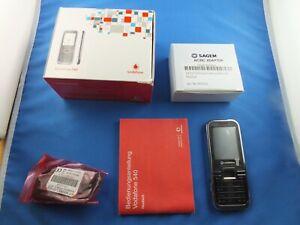 Original Sagem Vodafone 540 mit headset Ladegerät Original Verpackung Anleitung