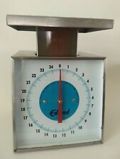 Edlund Sf-25 25 lb Analog Counter Rotating Dial Type Utility Scale