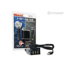 PS3 3-Port USB Hub with SD Card Reader