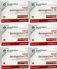 HM Phenylephrine PE Nasal Decongestant 10mg 36ct (6 boxes) =  216 tabs total