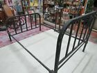 Vintage Iron Bed Frame 1930s ,40s?? Standard full/double size--Needs Restored