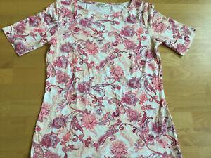 Betty Barclay Shirt Damen Damenshirt Rundhals kurzarm Viskose Stretch M Gr. 40