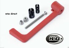 R&G RACING RED Moulded Lever Guard Honda CBR1000RR SP (2015)
