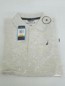 Nautica Boys 100% Cotton Polo Short Sleeve Dress Shirt, Various Sizes, Colors