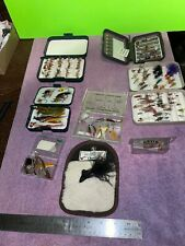 Large collection of fly fishiing flys. Ll Bean, Orvis, The Fly Rod Shop.